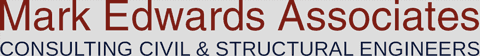 Mark Edwards Associates: Consulting Civil and Structural Engineers Logo